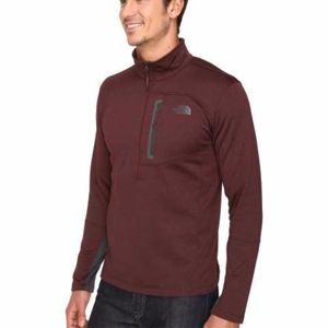 The North Face Canyonlands 1/2 Zip Sequoia Red